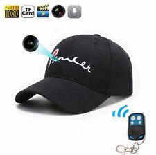 1080P HD Spy Baseball Cap TRUCKER Hat 32GB Remote control Camera Micro Video DVR