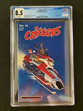 Critters #11 CGC 8.5 (1987) - Christmas cover