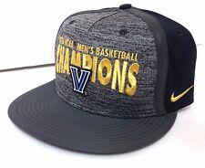 Nike VILLANOVA WILDCATS 2016 NCAA CHAMPION SNAPBACK HAT Gold Shimmer Locker Room