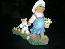 Boyds Bearstones Momma McWaddles and Skippy - Premier Edition