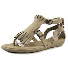 Sandalias y chanclas de mujer de color principal gris de goma
