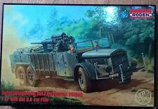 1/72 Roden - German Vomag Truck with 88mm Flack Gun -WWII-  Model Kit