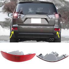 For Mitsubishi Outlander 2007-2013 Rear Bumper Reflector Tail Fog Warn Light