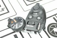Fuji Fujifilm FinePix S6800 Top Cover Shutter Mode Dial Repair Part DH7047