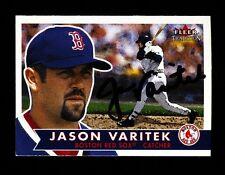 2001 FLEER TRADITION JASON VARITEK #306 RED SOX SIGNED AUTO BOLD!