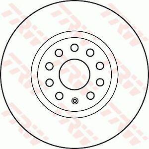 TRW Brake Rotor Front DF4464S fits Volkswagen Tiguan 1.4 TSI (5N) 110kw, 1.4 ...