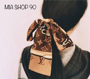 Handle Ribbon,Hair Accessories,Silk Skinny Twilly Bag Scarf Wrist Scarf