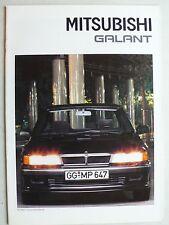 Prospekt Mitsubishi Galant, 10.1990, 26 Seiten