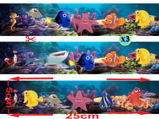 FINDING NEMO & DORY STRIP WRAP REAL EDIBLE ICING  CAKE TOPPER  IMAGE FROSTING