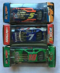 NASCAR 1/64 #7 Waltrip Monte Carlo 1/2500 #5 Labonte #18 Labonte Grand Prix