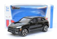 PORSCHE MACAN 1:43 Model Diecast Toy Car Miniature Cars Die Cast Black