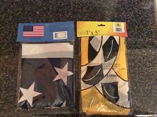 Two U.S. Flags 34 star and snake flags both new in packages