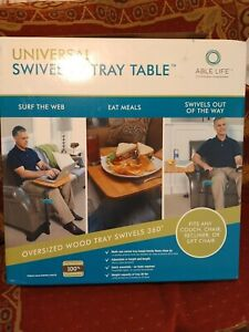 Stander Able Life swivel TV tray Table elderly disabled aid