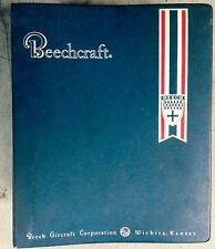 1976 BEECHCRAFT BARON 58P 58TC ILLUSTRATED PARTS CATALOG PRINTED BOOK, VINTAGE