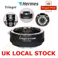 UK  Fringer EF-FX2 Pro II Auto Focus Mount for Canon EOS Sigma Lens to Fuji FX