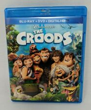 The Croods Blu-Ray DVD Digital HD Children's Movie