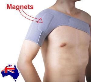 Shoulder Support Magnetic for Shoulder Pain Self Heating Warm Shoulder Brace