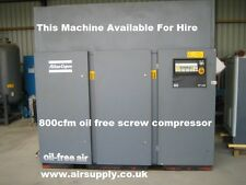 Atlas Copco ZT145 Oil Free Screw Compressor FOR HIRE