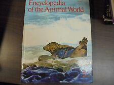Encyclopedia Of The Animal World Book 5 Chinch bug-Cow birds 1972