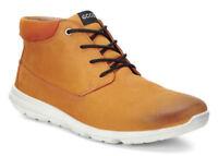ECCO 'Calgary' Men's Sneakers Trainers Shoes Mid Brown - size UK 9 / EU 43