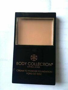 Body Collection Cream to Powder Foundation