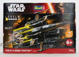 Revell 06750 Modellbausatz Star Wars Poe's X-wing Fighter Maßstab 1:78 NEU