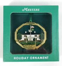 The MASTERS Golf Tournament Augusta National Christmas Ornament  PGA 2019 Tiger