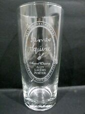 "Malt Shovel Brewery James Squire 425ml Beer Glass vgc (6 1/8"" x 2 7/8"") 4 avail."
