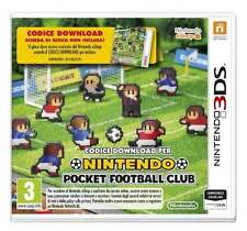 Nintendo Pocket Football Club 3DS NUOVO ITA