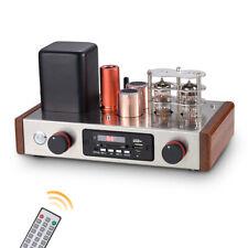 HiFi Class A Vacuum Tube Pre-Amplifier Bluetooth Stereo Audio Preamp USB Player