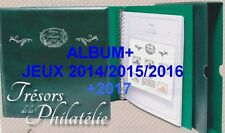 Pack Tresor de la Philatélie 2014/2015/2016/2017+ Album