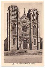 CPA 35 - SAINT MALO (Ille et Vilaine) - 89. Eglise de Rocabey