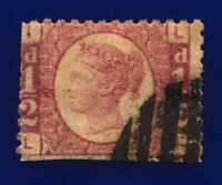1871 SG49 ½d Rose Plate 9 LI Clear Portrait Fair Used CV £850 cbtf