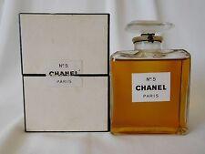 Vintage CHANEL No 5  MM with Dot  2 oz / 60 ml  Parfum / Perfume Sealed Bottle