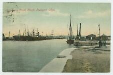 Alexandra Dock North, Newport 1905 Postcard, B969
