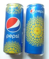Limited Edition PEPSI Soda can NEW YEAR 2016 from VIETNAM Yellow Flowers 330ml
