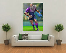 MELBOURNE STORM INSPIRED RUGBY NRL MASCOT GIANT WALL ART POSTER PRINT