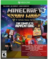 Minecraft: Story Mode- The Complete Adventure Xbox One Game (DIGITAL COPY) NEW!!