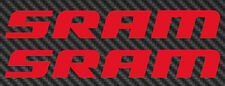 SRAM Logo Vinyl Sticker Decal Car Window 29er Mountain Bike mtb 27.5 road