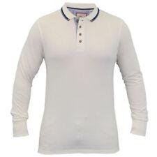 Camisetas de hombre negras de algodón y poliéster