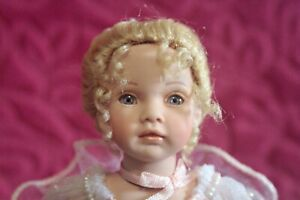 "Paulinette Limited edition porcelain Doll-  Katrina8""by Pauline Bjønnes-Jacobsen"