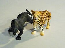 Bullyland 2er SET Panther 63602 + Leopardin 63586 - NEU TOP Wildtiere - BU12