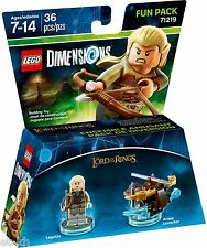 Lego Dimensions 71219 Fun Pack - The Lord of the Rings Legolas. Brand New.