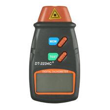 Hand Held Digital Laser Photo Tachometer Rpm Speed Kit Digital display