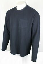 Lucky BRAND Men's One Pocket French Rib Crew Neck Thermal Shirt Navy 2xl 3312-9