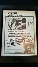 Cledus Maggard The Torn Flag Rare Original Promo Poster Ad Framed!