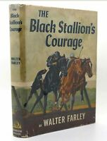Walter Farley THE BLACK STALLION'S COURAGE  1st Edition 1st Printing