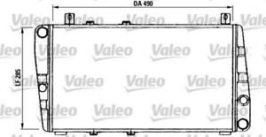 VALEO 730375 - Radiateur de refroidissement moteur Skoda Felicia Favorit *NEUF*