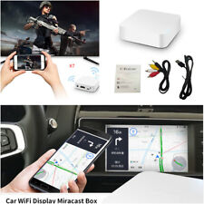Car TV Video WiFi Display Mirror Link Box Adapter USB2.0 Airplay For Android iOS