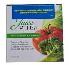 Juice Plus + Fruit and Vegetable Capsules 4 months supply BNIB sealed (4 x 120)